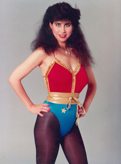 Tracy as Wonder Woman